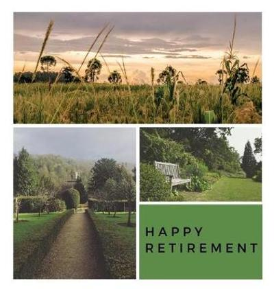 Happy Retirement Guest Book (Hardcover) - Lulu and Bell