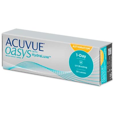 Acuvue Oasys 1-Day Hydraluxe for Astigmatism - Johnson & Johnson