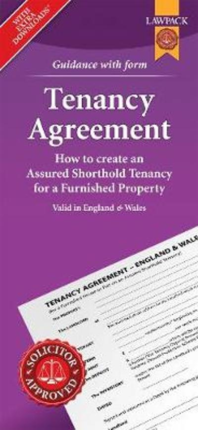 Furnished Tenancy Agreement Form Pack - Anthony Gold Solicitors