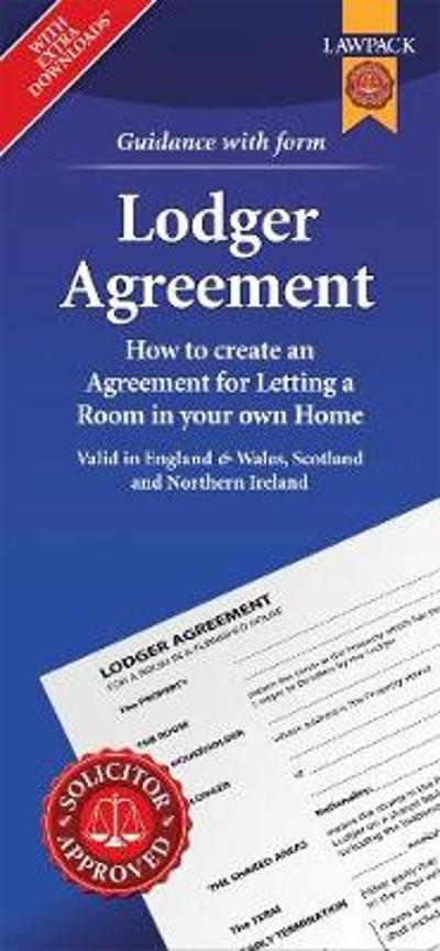 Lodger Agreement Form Pack - Anthony Gold Solicitors