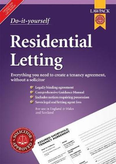 Do-it-yourself Residential Letting - Anthony Gold Solicitors