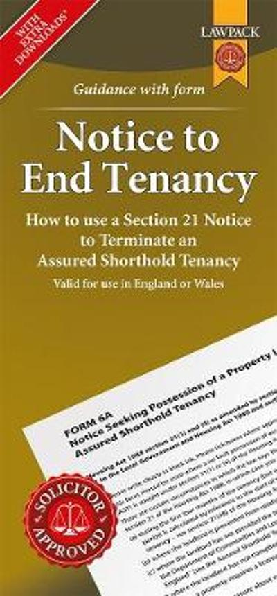 Notice to End Tenancy - Anthony Gold Solicitors