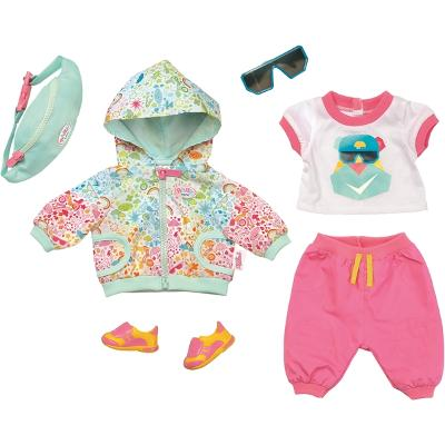 26f72618e94 BABY Born Play & Fun Deluxe Biker Outfit