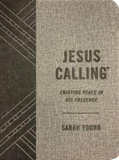 Jesus Calling (Textured Gray Leathersoft) - Sarah Young