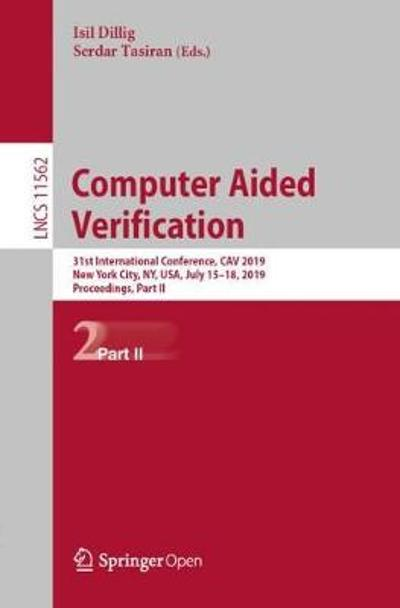 Computer Aided Verification - Isil Dillig