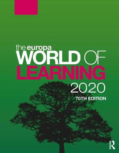 The Europa World of Learning 2020 - Europa Publications