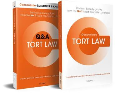 Tort Law Revision Concentrate Pack - Carol Brennan