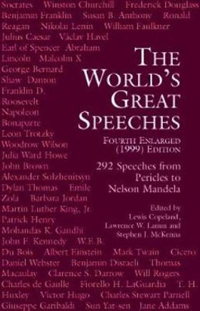 The World's Great Speeches - Lewis Copeland