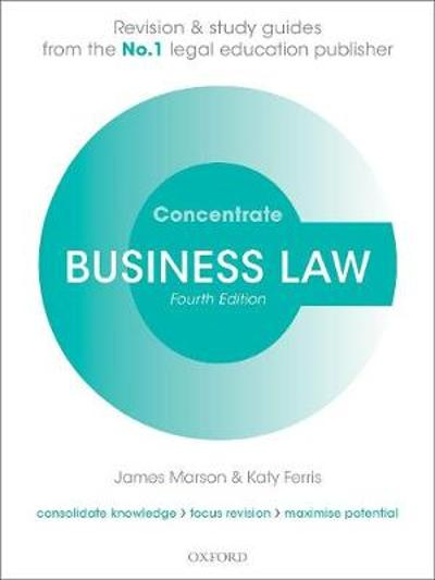 Business Law Concentrate - James Marson