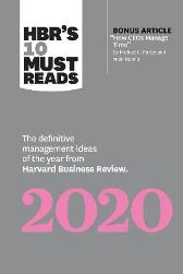 HBR's 10 Must Reads 2020 - Harvard Business Review