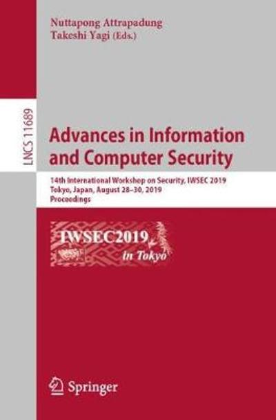 Advances in Information and Computer Security - Nuttapong Attrapadung
