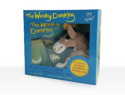 The Wonky Donkey Book & Toy Boxed Set - Craig Smith