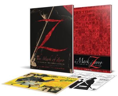 The Mark of Zorro 100 Years of the Masked Avenger HC Collector's Limited Edition Art Book - James Kuhoric