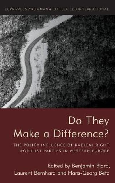 Do They Make a Difference? - Benjamin Biard