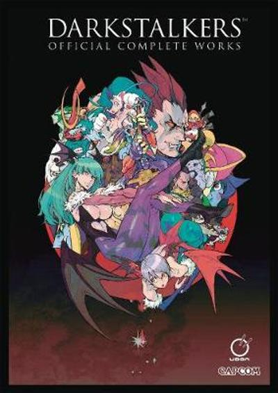 Darkstalkers: Official Complete Works Hardcover - Capcom