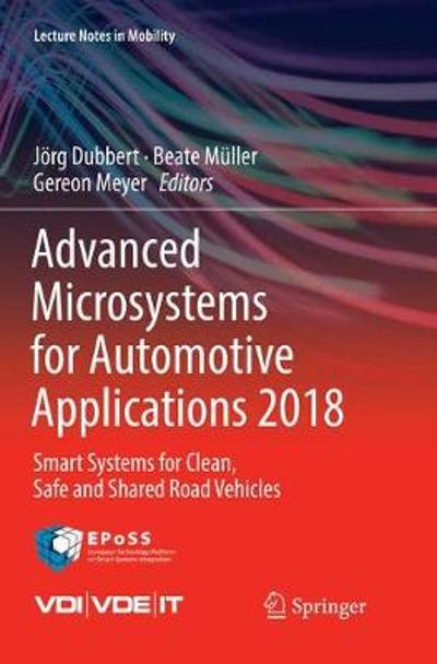 Advanced Microsystems for Automotive Applications 2018 - Joerg Dubbert