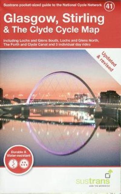 Glasgow, Stirling & The Clyde Cycle Map -