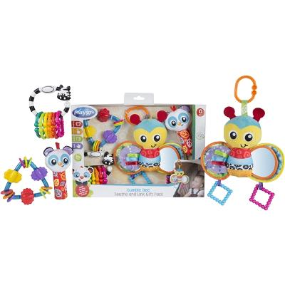 Playgro Bumble Bee Teethe And Link Gift - Playgro