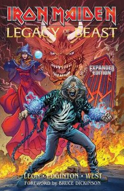Iron Maiden Legacy of the Beast Expanded Edition Volume 1 - Llexi Leon