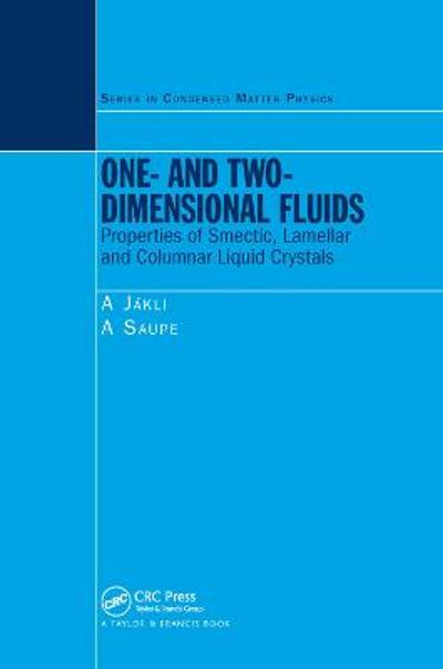 One- and Two-Dimensional Fluids - Antal Jakli