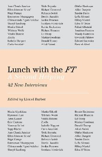 Lunch with the FT - Lionel Barber