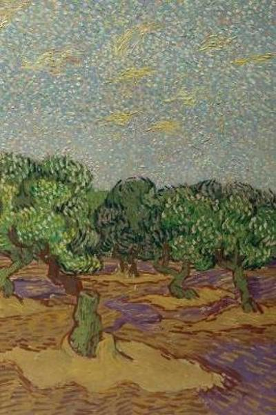 Vincent van Gogh's Olive Trees - A Poetose Notebook / Journal / Diary (100 pages/50 sheets) - Poetose Press