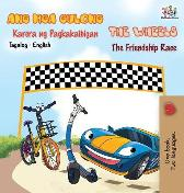 The Wheels -The Friendship Race (Tagalog English Bilingual Book) - Kidkiddos Books Inna Nusinsky