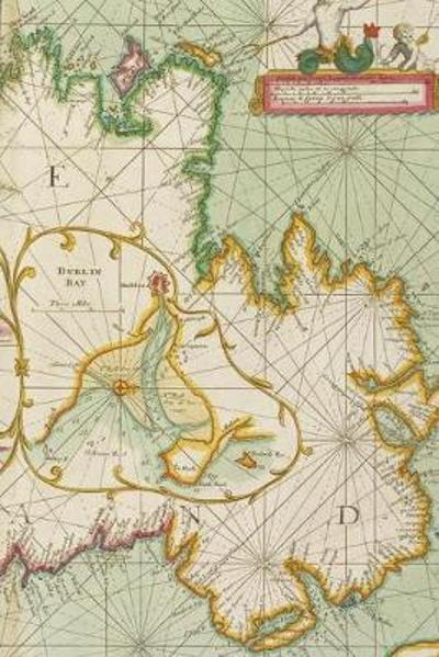 18th Century Chart of the Coast of Ireland - A Poetose Notebook / Journal / Diary (50 pages/25 sheets) - Poetose Press