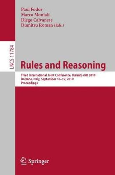 Rules and Reasoning - Paul Fodor