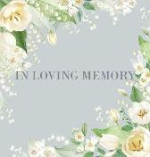 Condolence book for funeral (Hardcover) - Lulu and Bell