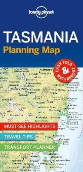 Lonely Planet Tasmania Planning Map - Lonely Planet Lonely Planet