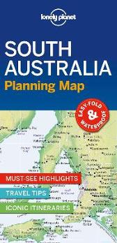 Lonely Planet South Australia Planning Map - Lonely Planet Lonely Planet