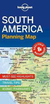 Lonely Planet South America Planning Map - Lonely Planet Lonely Planet