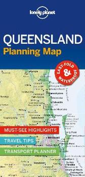 Lonely Planet Queensland Planning Map - Lonely Planet Lonely Planet