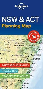 Lonely Planet New South Wales & ACT Planning Map - Lonely Planet Lonely Planet