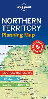 Lonely Planet Northern Territory Planning Map - Lonely Planet Lonely Planet