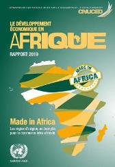 Le developpement economique en Afrique rapport 2019 - United Nations Conference on Trade and Development