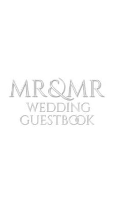 Mr and Mr Wedding Guest Book - Michael Huhn