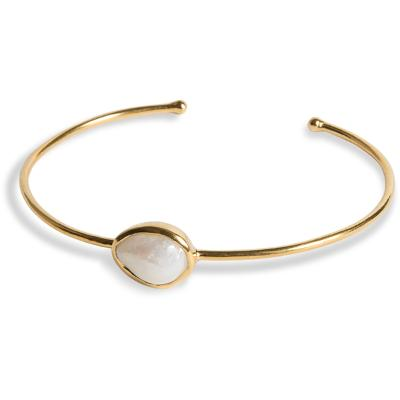 PEARLS FOR GIRLS Freshwater Pearl Gold Bracelet - PFG Stockholm