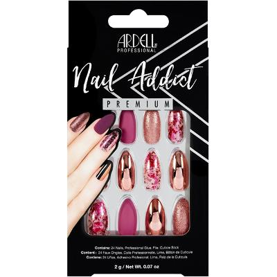 Ardell Nail Addict Chrome Pink Foil - Ardell