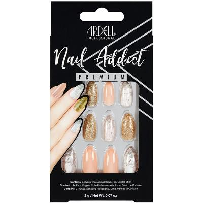 Ardell Nail Addict Pink Marble & Gold - Ardell