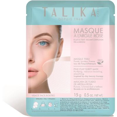 Talika Pink Clay Sheet Mask - Talika