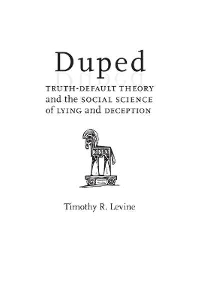 Duped - Timothy R. Levine