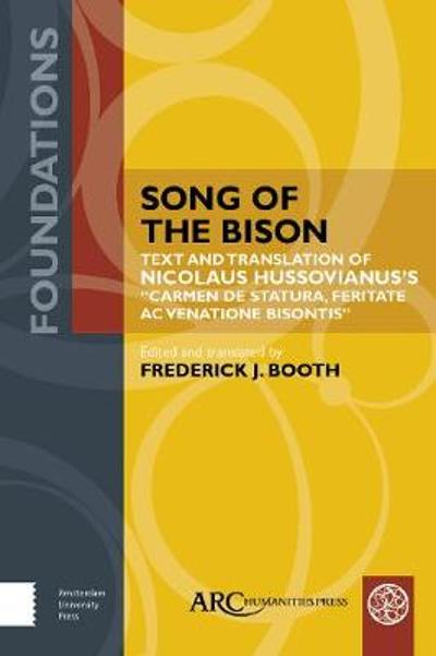 Song of the Bison - Frederick J. Booth