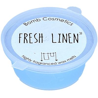 Fresh Linen Mini Wax Melt - Bomb Cosmetics