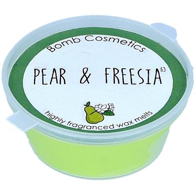 Pear & Fresia Mini Wax Melt - Bomb Cosmetics