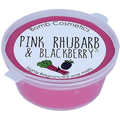 Pink Rhubarb & Blackberry Mini Wax Melt - Bomb Cosmetics