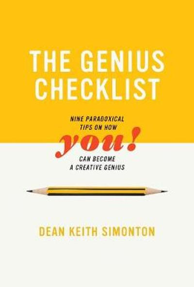 The Genius Checklist - Dean Keith Simonton