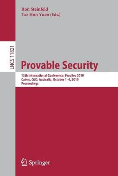 Provable Security - Ron Steinfeld