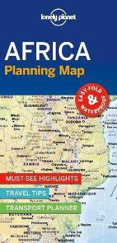 Lonely Planet Africa Planning Map - Lonely Planet Lonely Planet